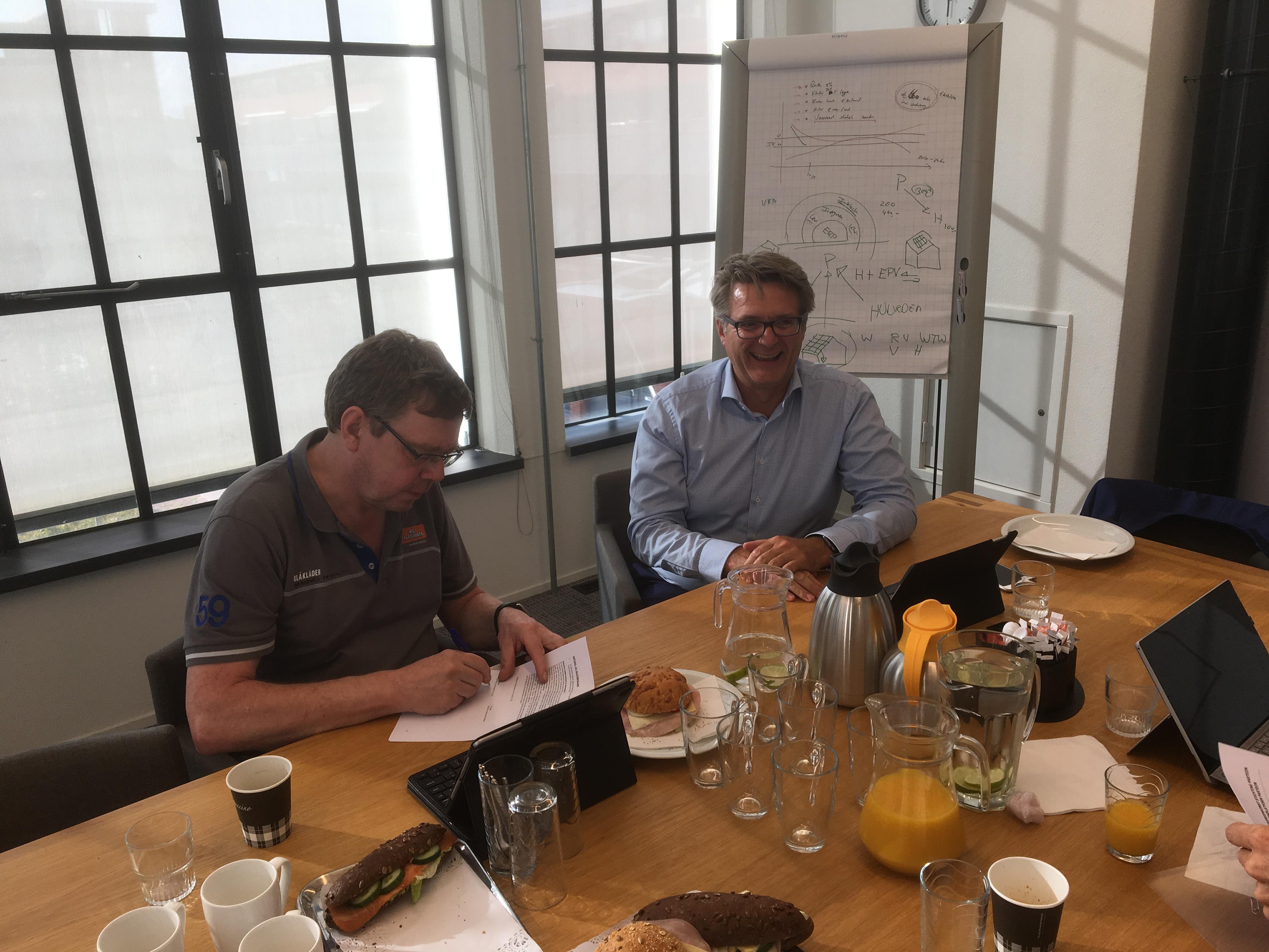 Samenwerkingsovereenkomst Parteon – Huurdersplatform Parteon